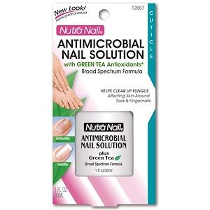 Нутра Нэйл, Antimicrobial Nail Solution, 1 fl oz (30 ml) отзывы