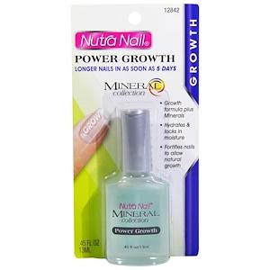 Нутра Нэйл, Mineral Collection, Power Growth, Longer Nails, .45 fl oz (13 ml) отзывы
