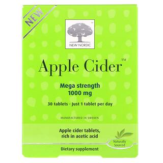 New Nordic, Apple Cider, 1,000 mg, 30 Tablets