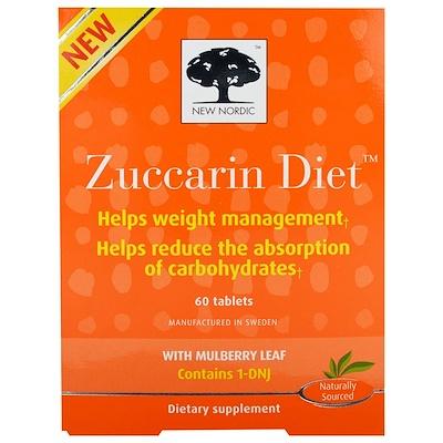 Таблетки для похудения Zuccarin Diet, 60 таблеток