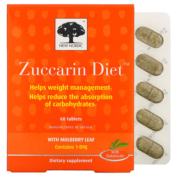 Zuccarin Diet, 60 Tablets