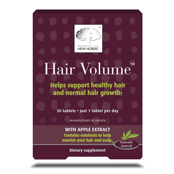 Hair Volume with Apple Extract, 30 Tablets