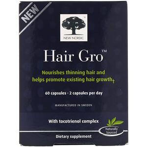 Нью Нордик УС Инк, Hair Gro, 60 Capsules отзывы