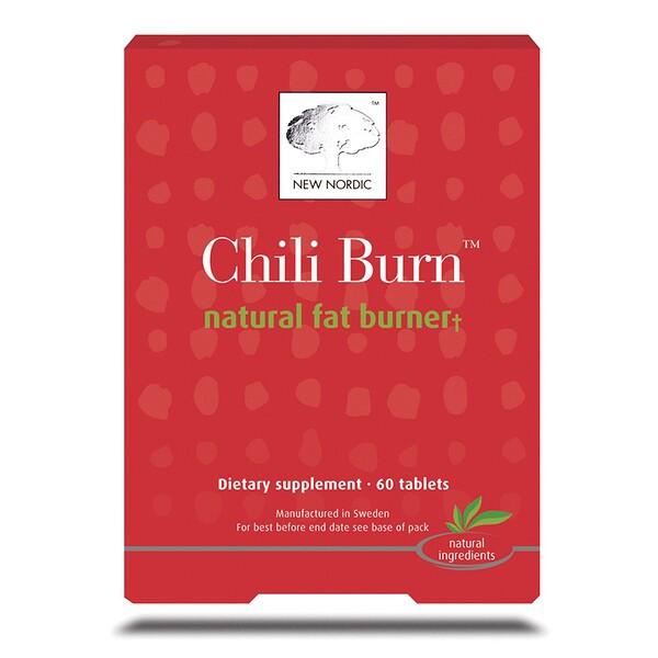 New Nordic, Chili Burn, Natural Fat Burner, 60 Tablets - iHerb