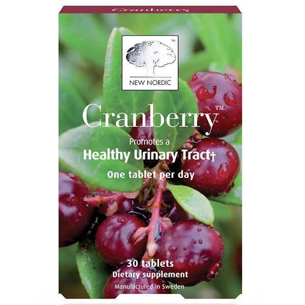 New Nordic, Cranberry, 30 Tablets (Discontinued Item)