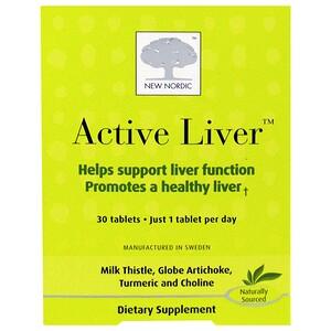 Нью Нордик УС Инк, Active Liver, 30 Tablets отзывы