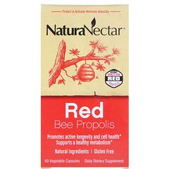 NaturaNectar, 紅蜂膠,60粒素食膠囊