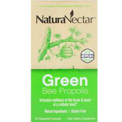 NaturaNectar, 綠蜂膠,60粒素膠囊