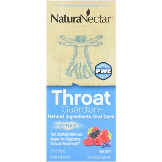 NaturaNectar, Atomizador Throat Guardian, Bee Berry, 1 fl oz (30 ml)