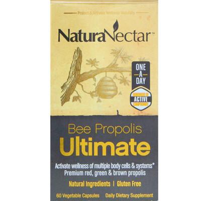 Купить NaturaNectar Bee Propolis Ultimate, 60 вегетарианских капсул
