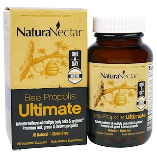 NaturaNectar, Bee Propolis Ultimate, 60 Veggie Caps