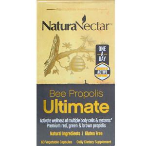 НатураНектар, Bee Propolis Ultimate, 60 Vegetable Capsules отзывы