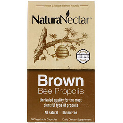 NaturaNectar, 棕色蜂膠,60 粒素食膠囊
