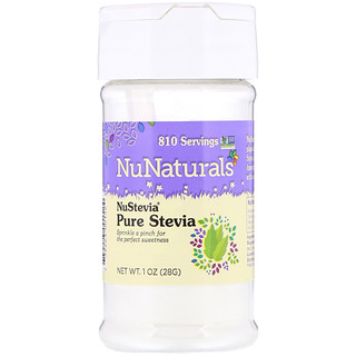 NuNaturals, NuStevia, Pure Stevia, 1 oz (28 g)