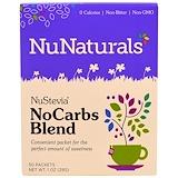 Отзывы о NuNaturals, NuStevia, комплекс «БезУглеводов», 50 пакетиков, 1 унция (29 г)