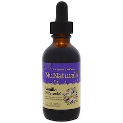 NuNaturals, Vanilla NuStevia, 2 fl oz (59 ml)
