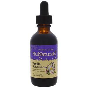 НуНатуралс, Vanilla NuStevia, 2 fl oz (59 ml) отзывы покупателей
