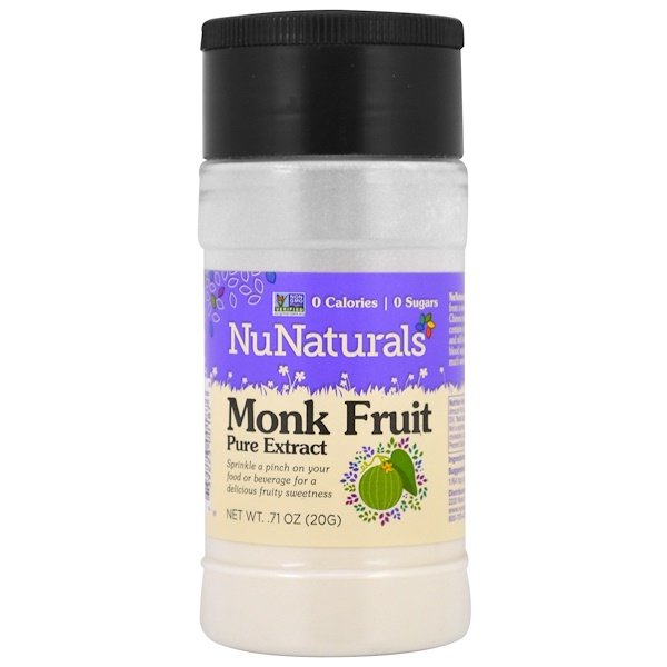 NuNaturals, Monk Fruit Pure Extract, .71 oz (20 g)