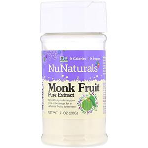 НуНатуралс, Monk Fruit Pure Extract, .71 oz (20 g) отзывы