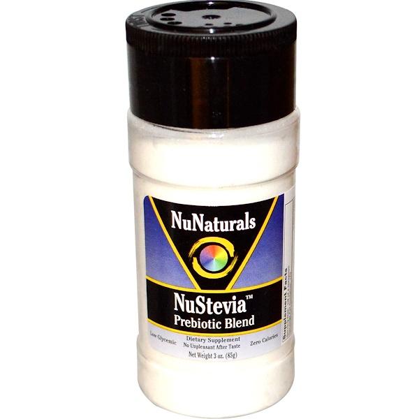 NuNaturals, Nustevia, Prebiotic Blend, 3 oz (85 g) (Discontinued Item)