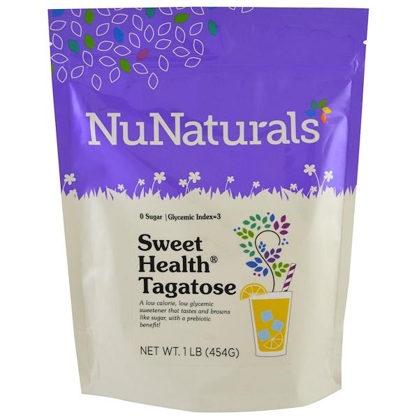 NuNaturals, Sweet Health Tagatose, 1 lb (454 g) (Discontinued Item)