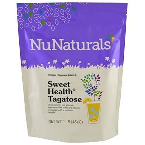 НуНатуралс, Sweet Health Tagatose, 1 lb (454 g) отзывы