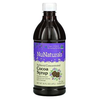 NuNaturals, NuStevia Concentrated Cocoa Syrup, 16 fl oz (0.47 l)