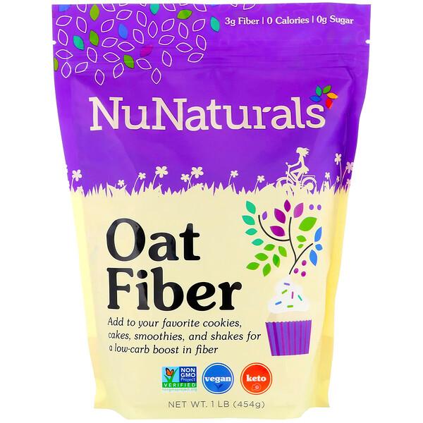 Oat Fiber, 1 lb (454 g)