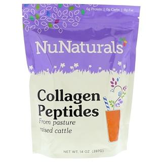 NuNaturals, Collagen Peptides, 14 oz (397 g)
