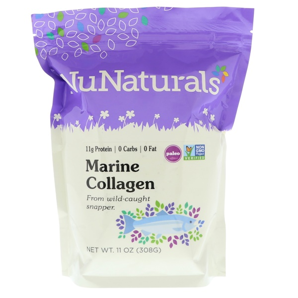 NuNaturals, Marine Collagen, 11 oz (308 g)