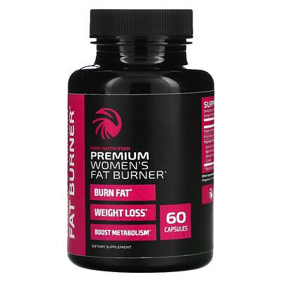 Nobi Nutrition Premium Women's Fat Burner, 60 Capsules
