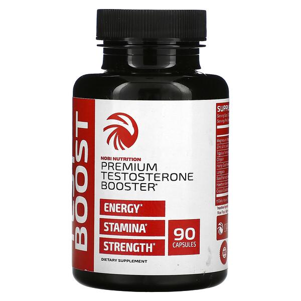 Premium Testosterone Booster, 90 Capsules