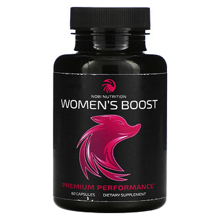 Nobi Nutrition, Women's Boost, 60 Capsules