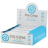 No Cow, Protein Bar, Vanilla Caramel, Proteinriegel Vanille-Karamell, 12 Riegel, 60g (2,12 oz.) pro Riegel