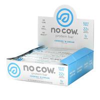 No Cow, Protein Bar, Cookies n Cream, 2.12 oz (60 g)
