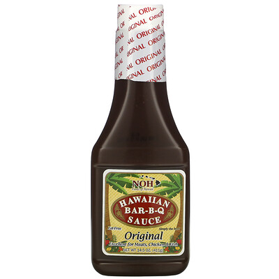 Купить NOH Foods of Hawaii Hawaiian Bar-B-Q Sauce, 14.5 oz (411 g)