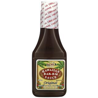 NOH Foods of Hawaii, Hawaiian Bar-B-Q Sauce, Original, 14.5 oz (411 g)