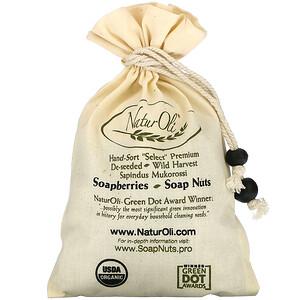 НатурОли, Organic, Hand-Sort Select Soap Nuts With 1 Muslin Drawstring Bag, 4 oz отзывы покупателей
