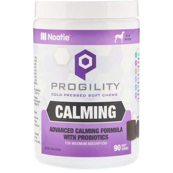 Nootie, Progility, Calming, For Dogs, 90 Soft Chews (Discontinued Item)