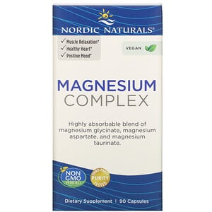 Nordic Naturals, Magnesium Complex, 90 Capsules