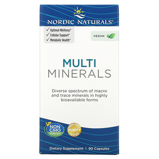 Nordic Naturals, Multi Minerals, 90 Capsules