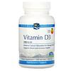 Nordic Naturals, Vitamin D3, Orange, 1,000 IU, 120 Soft Gels