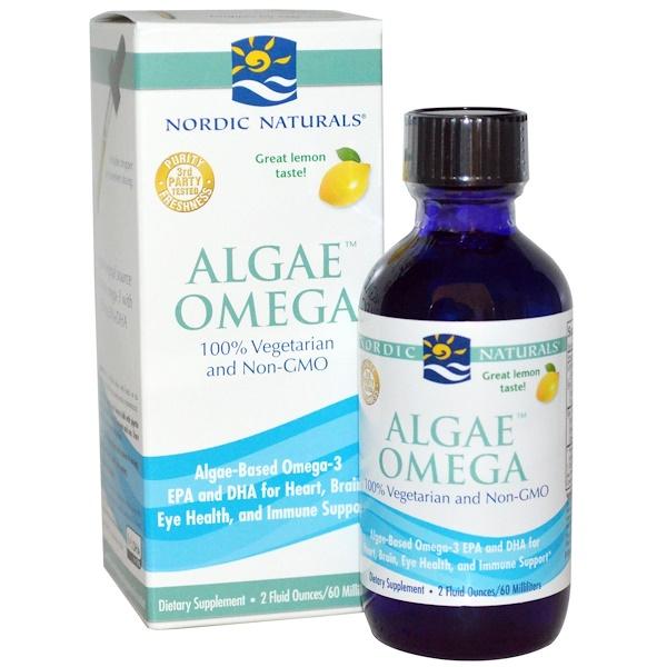 Nordic Naturals, Algae Omega, Lemon, 2 fl oz (60 ml) (Discontinued Item)