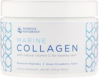 Nordic Naturals, Marine Collagen, Strawberry Flavor, 5.29 oz (150 g)