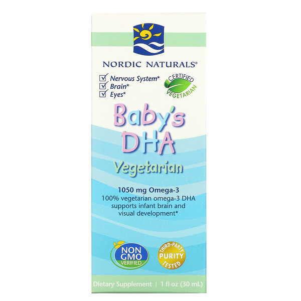 Baby's DHA, Vegetarian, 1 fl oz (30 ml)