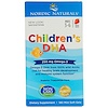 Nordic Naturals, Children's DHA, Strawberry, 250 mg, 180 Mini Soft Gels