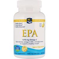 Рыбий жир (ЭПК) со вкусом лимона, 1000 мг, 60 капсул - фото