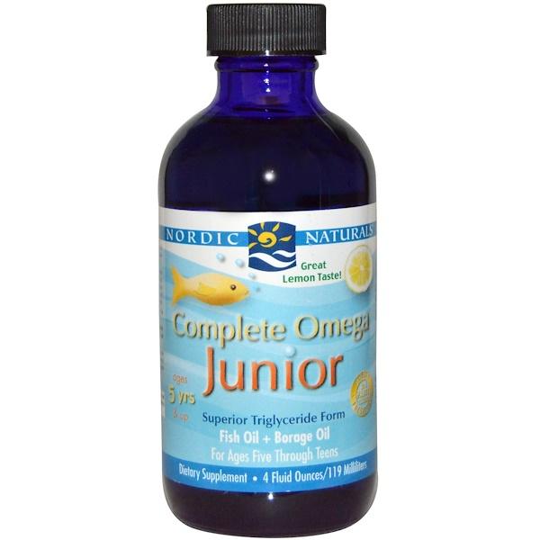 Nordic Naturals Complete Omega Junior Reviews