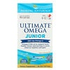 Nordic Naturals, Ultimate Omega Junior, Idades 6 a 12, Morango, 680 mg, 90 Minicápsulas Softgel