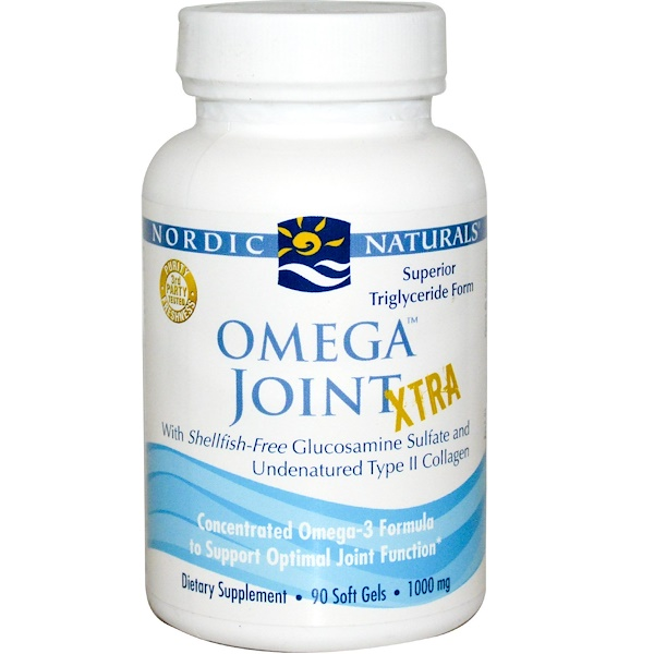 Nordic Naturals, Omega Joint Xtra, 1000 毫克, 90 粒